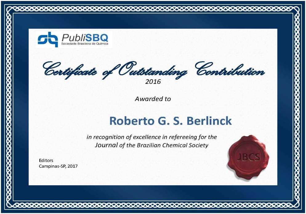 Roberto G. S. Berlinck